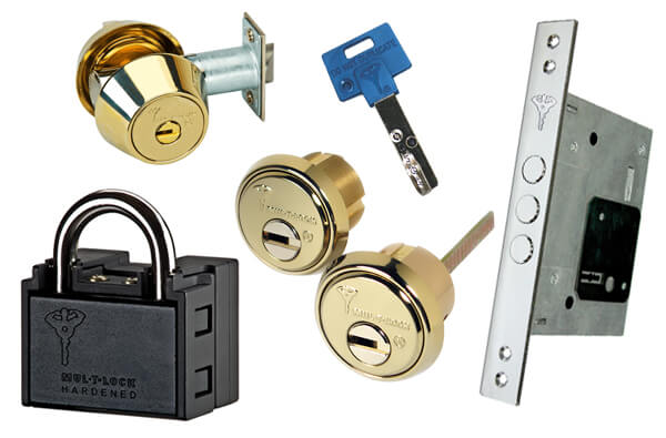 Mul-T-Lock Locks and Keys